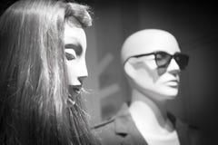Shop dummy fashion store clothes mannequin Stock Image