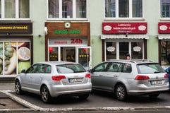 Shop Ekoland 24h Lizenzfreies Stockbild