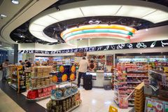 Shop 7-Eleven Lizenzfreies Stockbild