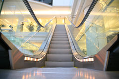 Shop escalator Royalty Free Stock Photos