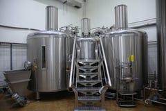 Shop für die Produktion des Bieres stockfotos