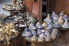 Shop in Fez Marocco stock photo