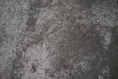 Shop Floor Cement with White Paint Fading Off stock photos