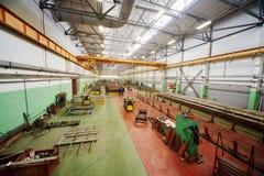 Shop floor at Mytishchi Metrovagonmash factory Stock Images