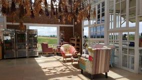 Shop@ Flora Park del caffè Fotografia Stock