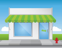 Shop Front Stock Image