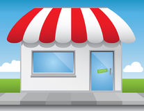 Shop Front Royalty Free Stock Photo