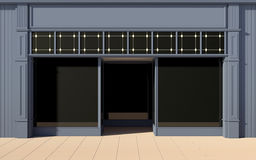 Shop front facade Royalty Free Stock Photography