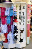 Shop fun memories in a pedestrian street of Saintes-Maries-de-la Royalty Free Stock Photo