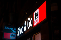 Shop and go by mega image Stock Photography