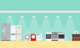 Shop of home appliances Stock Photos