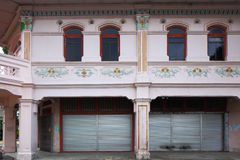 Shop house in Singapore Stock Image