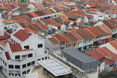 Shop houses in Singapore Royalty Free Stock Photo
