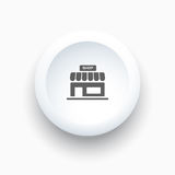 Shop icon on buttons Royalty Free Stock Images