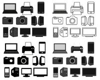 Shop icon set. Set of 40 icons for internet shop. Vector available Stock Image