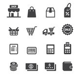 Shop icon Royalty Free Stock Image
