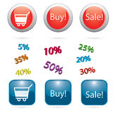 Shop icon2 Royalty Free Stock Image