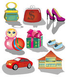Shop icons Stock Photo