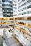 Shop interior escalator Royalty Free Stock Photography