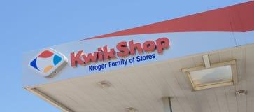 Shop-Lebensmittelgeschäft Kroger Kwik Lizenzfreie Stockfotos
