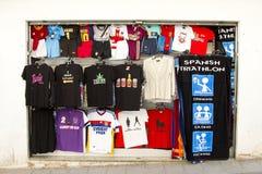 Shop in Lloret de Mar Royalty Free Stock Images
