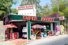Shop in Malia. Stock Photo