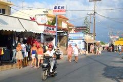 Shop in Malia. Stock Image