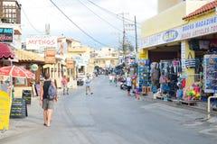 Shop in Malia. Stock Photography