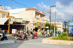 Shop in Malia. Stock Images