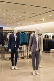 Shop mannequin males Stock Photography