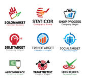 Shop Marketing Design Illustration Stock Image