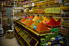 Shop in Marrakesh, Morocco Royalty Free Stock Photography