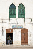 Shop in massawa eritrea with ottoman influenced ar Royalty Free Stock Images