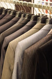 Shop for men's clothing Stock Photo