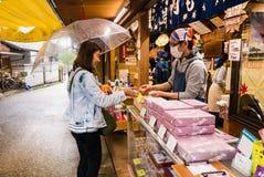 Shop on Miyajima island Stock Photography