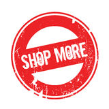Shop More rubber stamp Royalty Free Stock Photo
