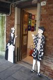 Shop in Murano Island in Venice Royalty Free Stock Image