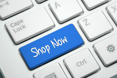 Shop Now - Business Concept Royalty Free Stock Images