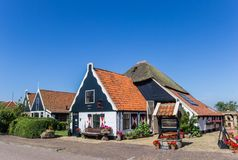Shop in an old farm in Oudeschild. On Texel island, The Nethrlands royalty free stock images