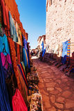 Shop in the old mountain village Ait-Ben-Haddou Stock Photo
