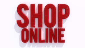 Shop Online Stock Photo