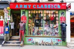 Shop at the Portobello Road in London, UK Royalty Free Stock Photography