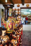 Shop with pottery Stock Image