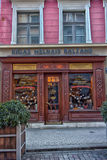 Shop Riga balsam beverage Royalty Free Stock Photo