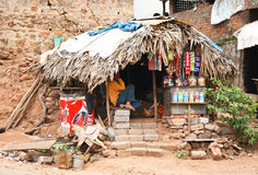 Shop in rural India Stock Photography