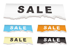 Shop sale elements Stock Photo