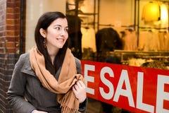 Shop sales Stock Photo