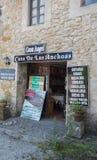 Shop in Santillana del Mar Royalty Free Stock Images