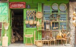 Shop in sarajevo royalty free stock image