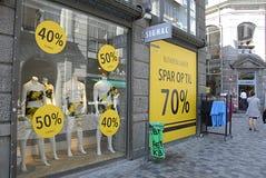SHOP-SCHLIESSUNG Lizenzfreie Stockfotografie